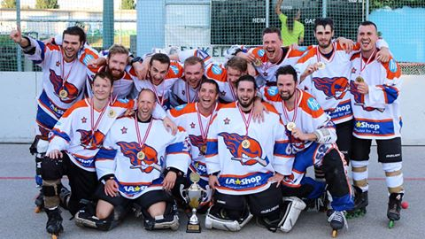 Meister 2. Bundesliga 2016: Lunatic Hockey Team Wien
