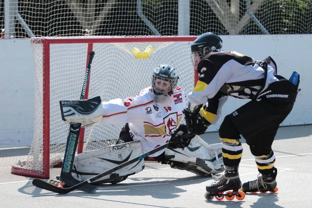 Tigers Stegersbach und Lunatic Hockey Wien sichern sich die Halbfinal-Tickets